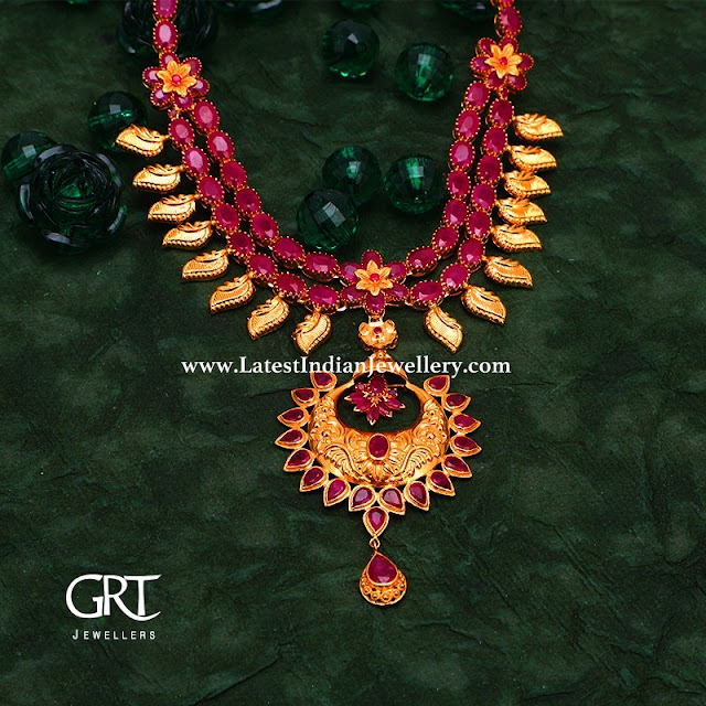 65gms Ruby Necklace from GRT