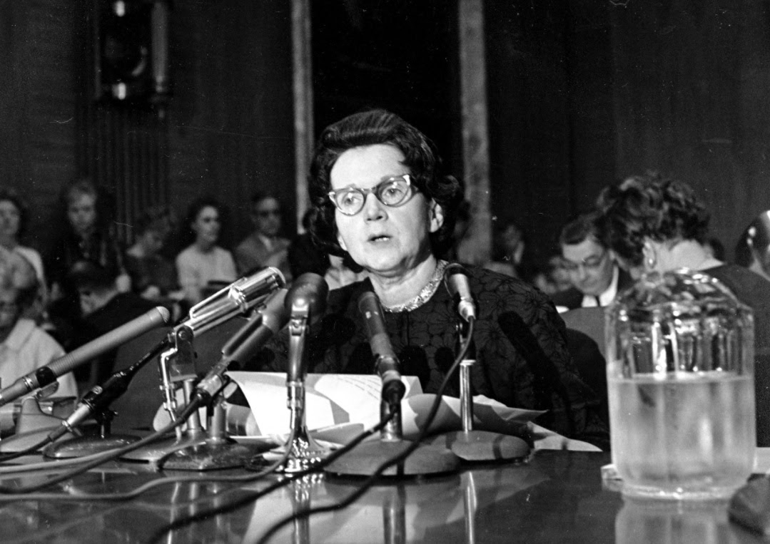 rachel carson and the fight against The rachel maddow show / the maddowblog carson makes a rare endorsement of war crimes carson was asked about the fight against.