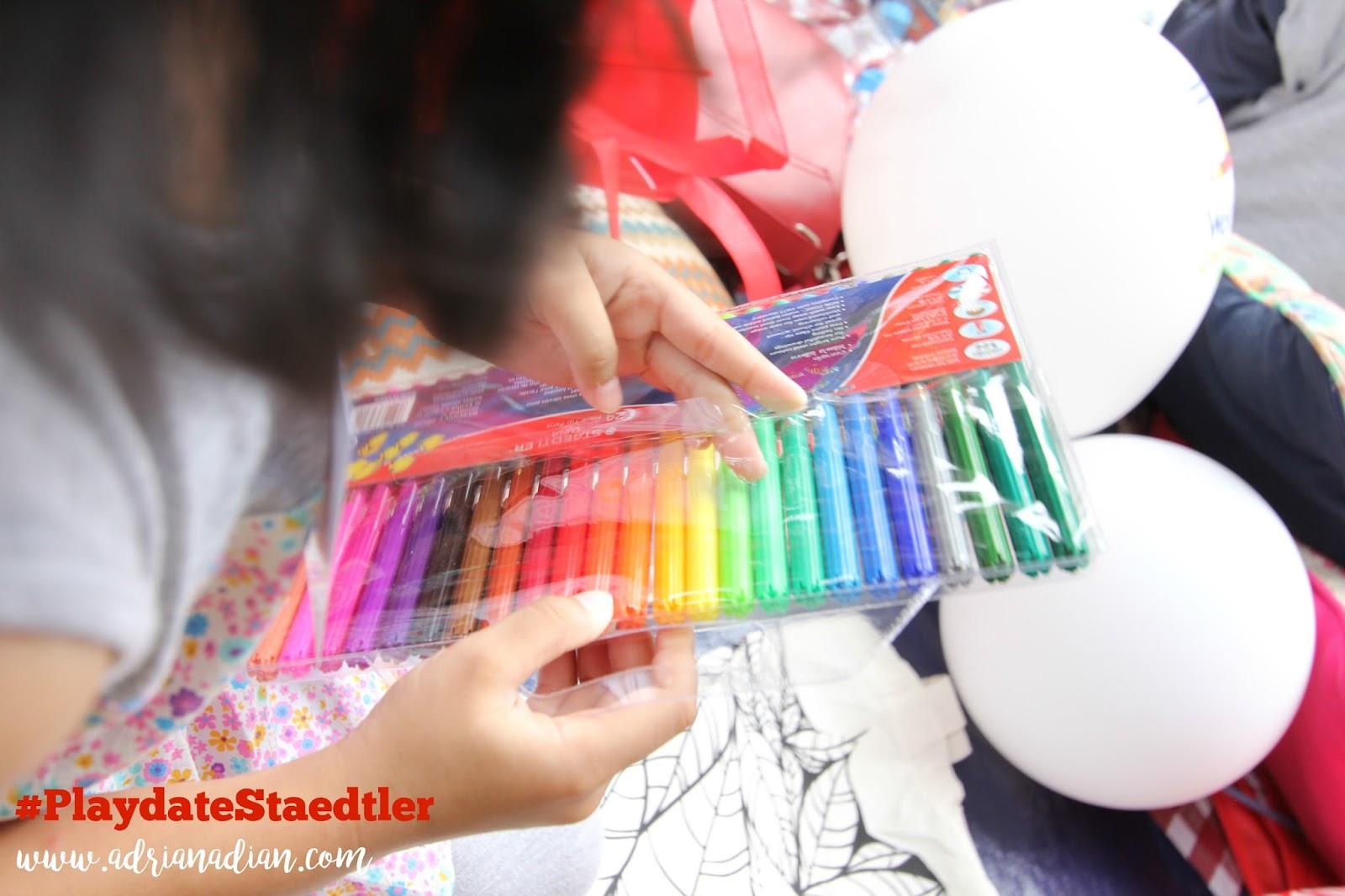 #PlaydateStaedtler Fun Colouring