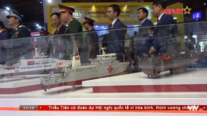 Vietnam's Defence Industry on Show at Indodefence Expo - War
