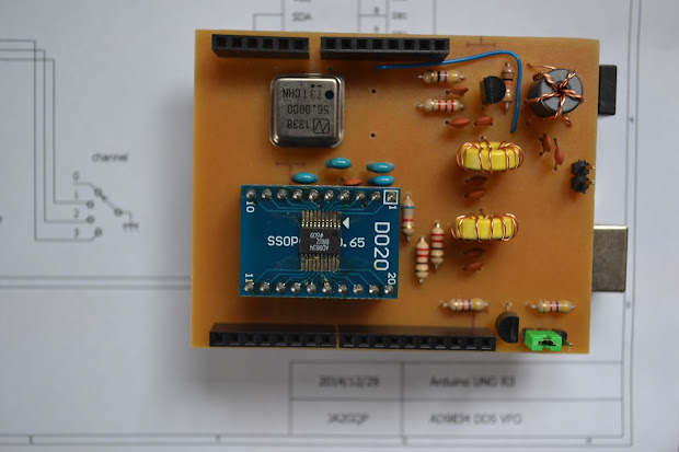 Ja2gqp Arduino Ad9834 Dds Vfo - Year of Clean Water