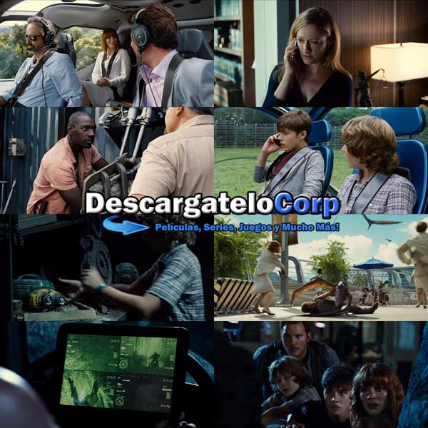 Jurassic World DVDRip Latino