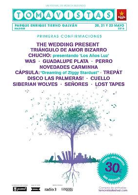 TOMAVISTAS FESTIVAL MADRID 2016