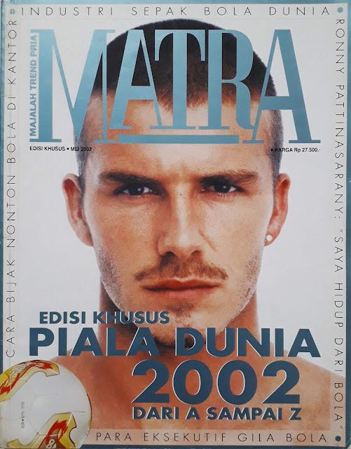MAJALAH MATRA: EDISI KHUSUS PIALA DUNIA 2002 DARI A SAMPAI Z