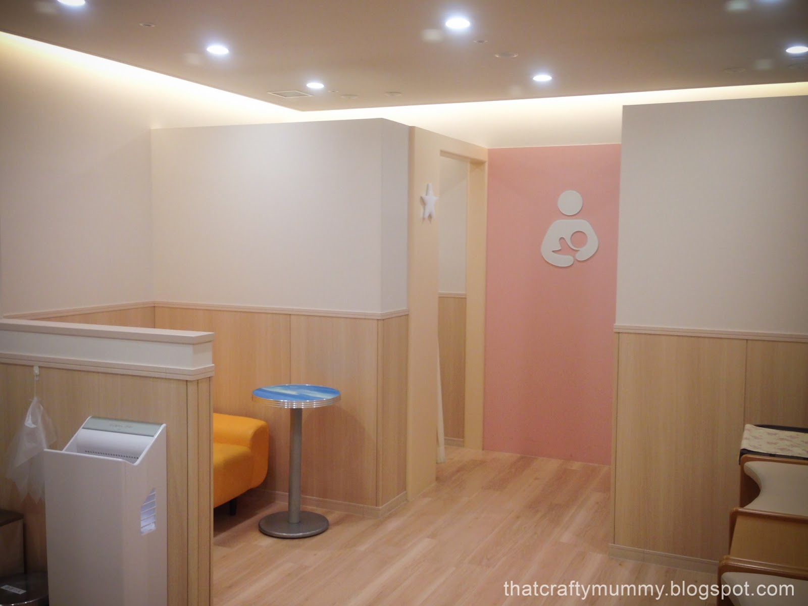 That Crafty Mummy: Travelling Japan: Baby Room and Breastfeeding