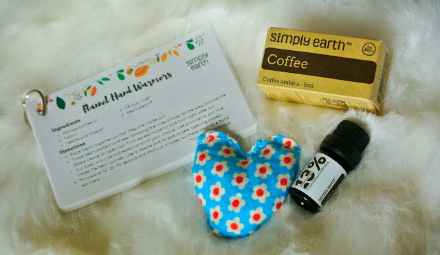 Coffee Essential Oil, Hand Warmer