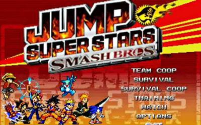 JUMP Super Stars Smash Bros - Jeu de Combat en 2D sur PC