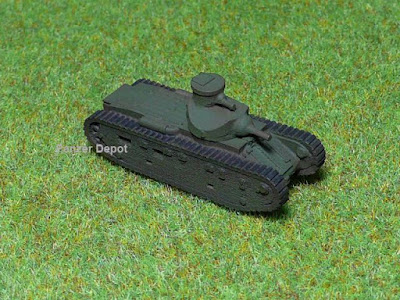 USA M1921 tank