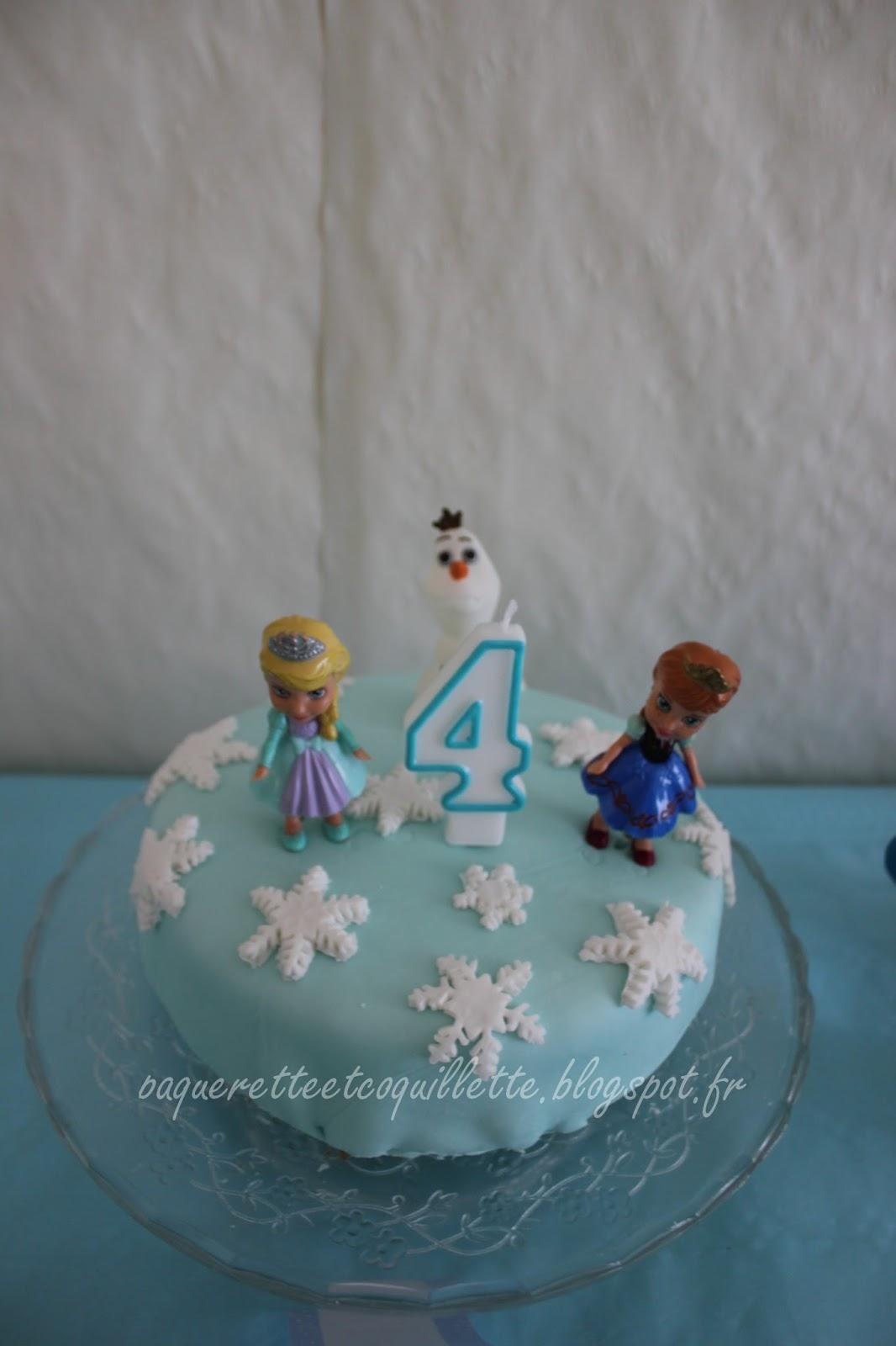 Le g¢teau d anniversaire de p¢querette des neiges