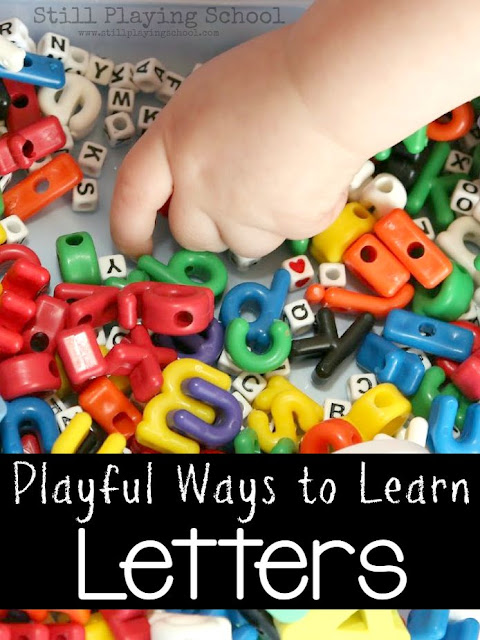 Teach kids letters of the alphabet in a playful and natural way!