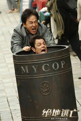 Adegan Lucu Jackie Chan dalam Skiptrace 4