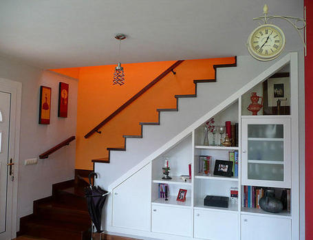 So glittering el hueco de las escaleras for Huecos de escalera
