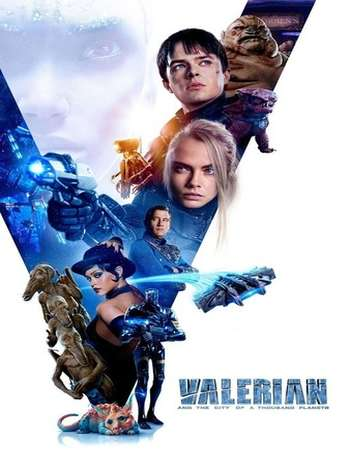 Valerian and the City of a Thousand Planets 2017 English 720p BluRay 1GB ESubs