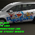Mobil, Suzuki, Ertiga, Cutting Sticker, sticker mobil, Bekasi, doraemon