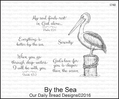 Our Daily Bread Designs Stamp Set: By the Sea