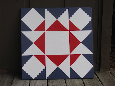 Prairie Patchworks: Two Color Ohio Star Variation
