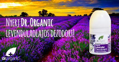 Dr Organic Nyeremenyjatek