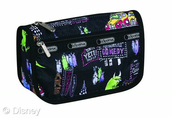 Monsters, Inc. for Le Sportsac Collection Cosmetic Bag