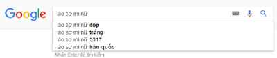 từ khóa bằng Google Suggest