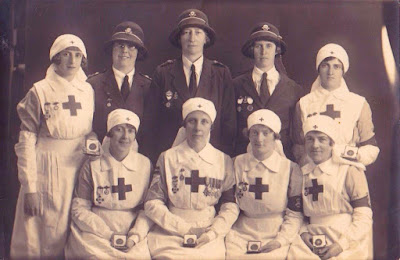 Red Cross nurses