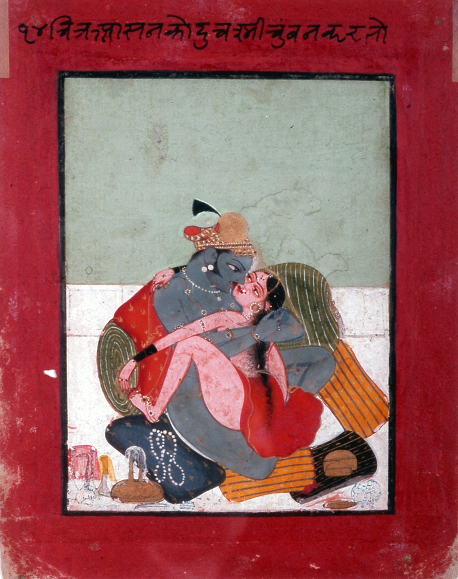 A Lovemaking Posture - India c1725