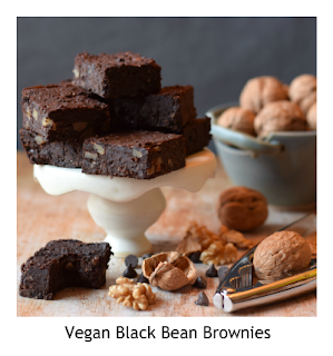 This vegan black bean brownie recipe is packed with flavour and is super fudgey just like a brownie should be.  Those you share them with will have no idea that these brownies are made with black beans.  It's incredibly easy to make with everyday ingredients.  As well as being suitable for vegans, this brownie recipe is also gluten free, free of refined sugar and low in saturated fats, but packed with with flavour.