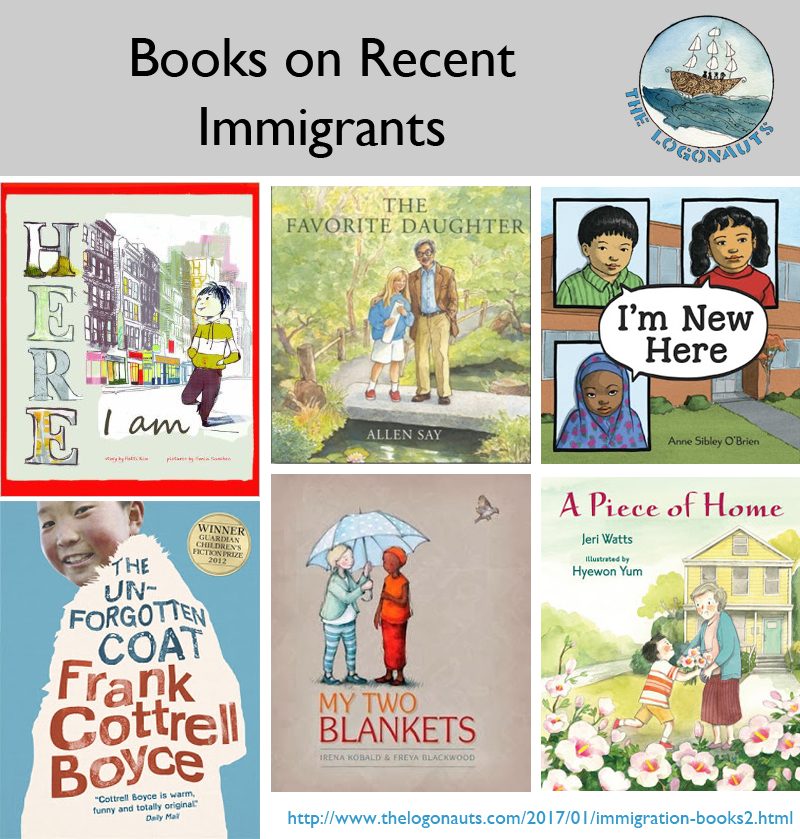 Immigration News: New Immigration Books, Part 2: Picture Books And