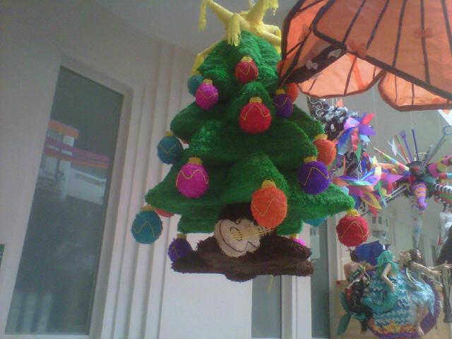 piñatas navideñas tradicionales mexicanas