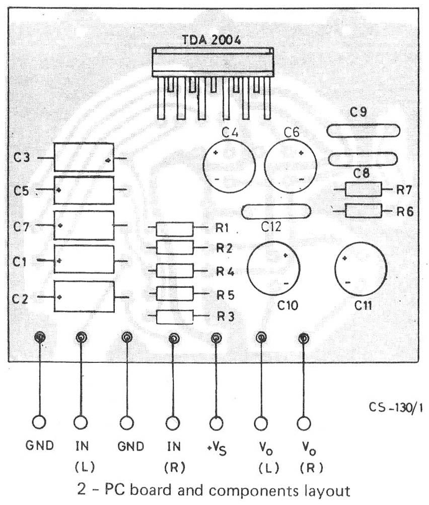 amplificador tda2004 pdf