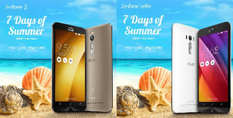 ZenFone 2 and ZenFone Selfie price drop