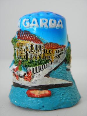 naparstki, naparstki kolekcjonerskie, moja kolekcja naparstków, thimble, Jezioro Garda, e-fectyinspiracji