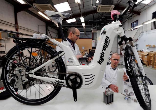 Alpha, Sepeda Listrik Berbahan Bakar Hidrogen Asal Prancis