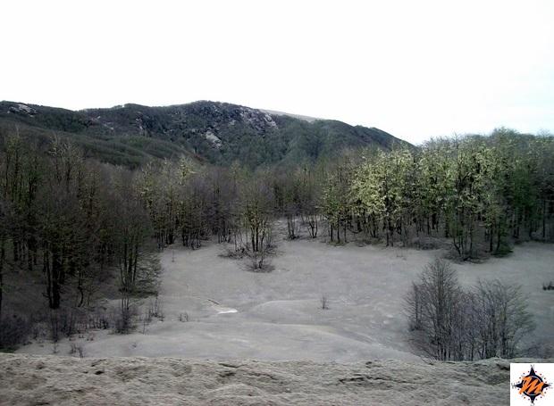 Da Bariloche a Chiloè. Cenere dal vulcano Puyehye