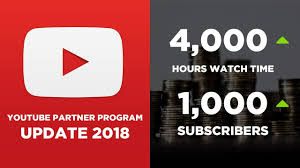 Update on new YouTube Partner Program applications,youtube new polocy