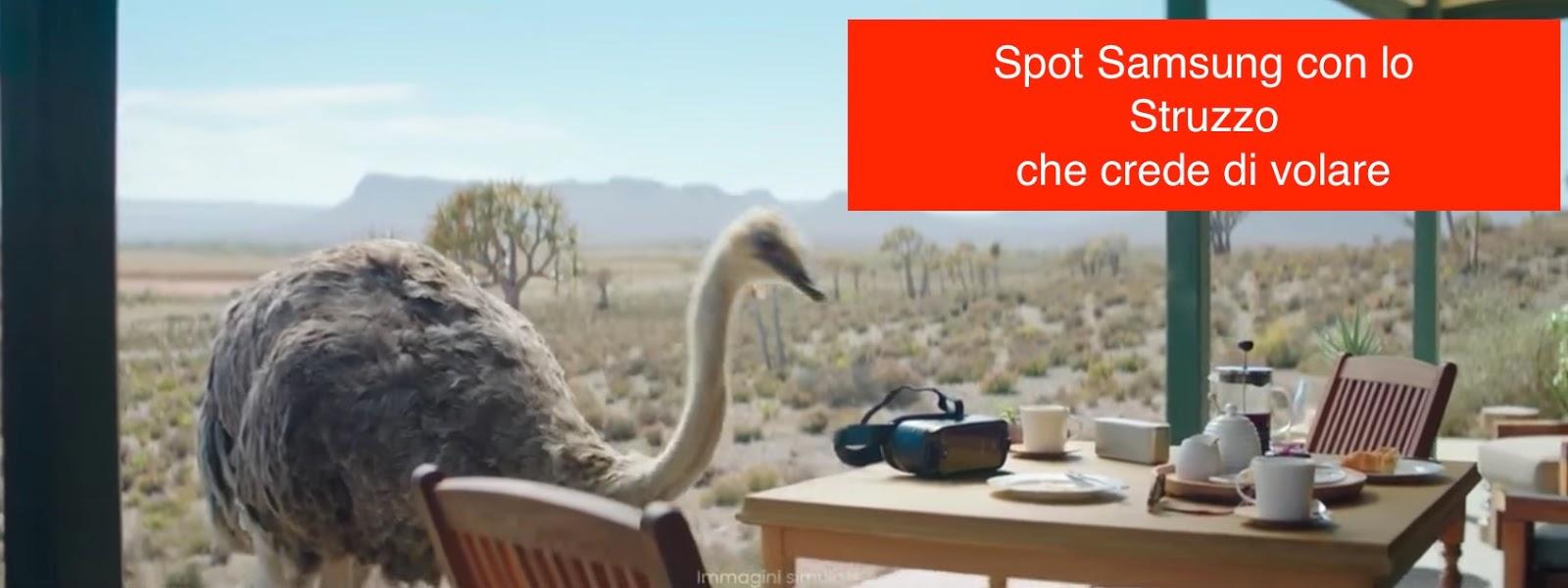Canzone Pubblicità Samsung Struzzo che vola – Musica Spot Marzo 2017