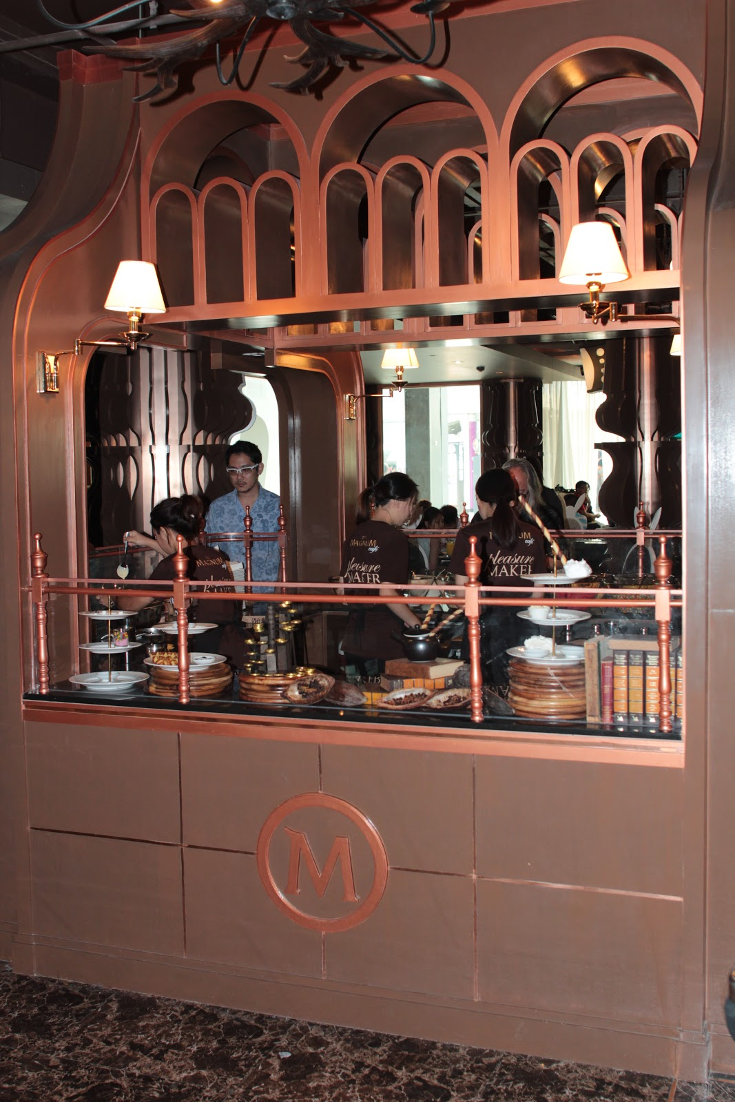 Magnum Cafe @Siam Center. Bangkok
