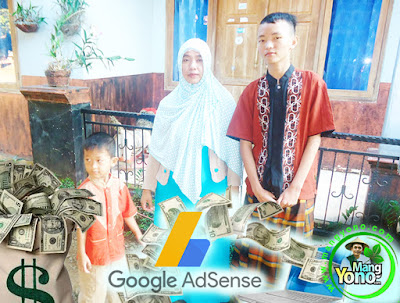 Pembayaran Google Adsense Bulan Januari 2018.  Foto Keluarga Kecil Saya.