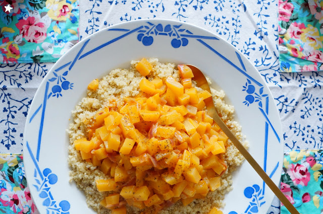 curry rutabaga quinoa vegan glutenfree