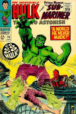 Tales to Astonish #95, the Hulk and the High Evolutionary