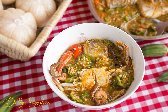 Seafood Okra Soup Dobby S Signature
