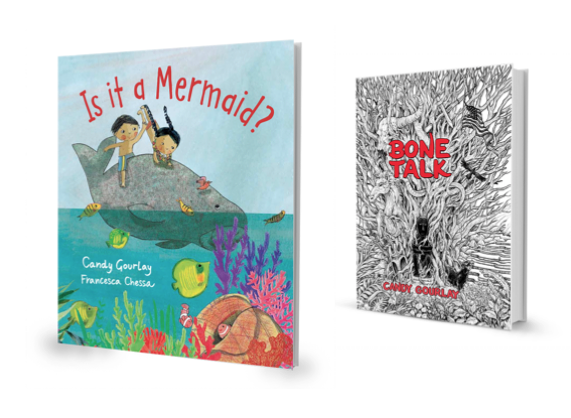 Candy Gourlay's New Books in 2018: IS IT A MERMAID? and BONE TALK