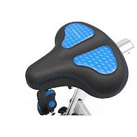 Nautilus U618 gel seat, 4-way adjustable, image