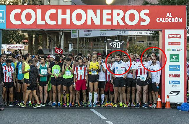 Club Marathón Aranjuez en el Derbi de las Aficiones