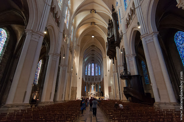 Catedral Chartres bonitas de Francia viaje Loira turismo roadtrip Bretaña Normandia