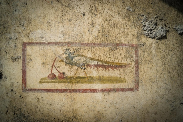 Pompeii, new discoveries: the brilliant colours of the 'House of Jupiter'