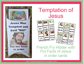 bible fun for kids temptation of jesus. Black Bedroom Furniture Sets. Home Design Ideas
