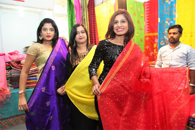 Silk India Expo Kick- Starts at Secunderabad.!