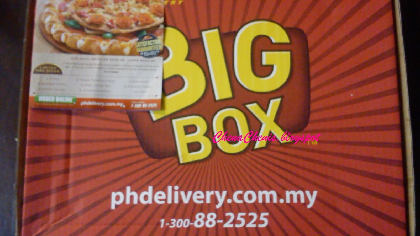 Pizza Hut Big Variety Box