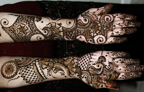 Mehndi Design For Hands For Marriage