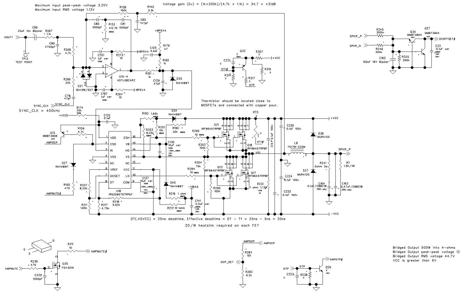 Stereo Jack Schematic